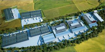 N.G.B Distribution Center continues its development in South-West of Bucharest