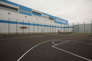 Belgian developer WDP is building a 10,000 sqm warehouse for Decathlon