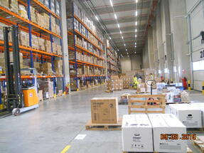 Relocation of the cargo-partner warehouse in Joita, Giurgiu