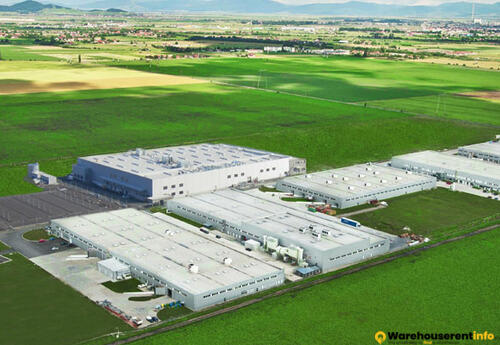 Warehouses to let in Industrial Park Brasov (IPB)