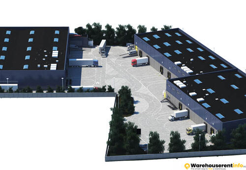 Warehouses to let in PL Distribution Center