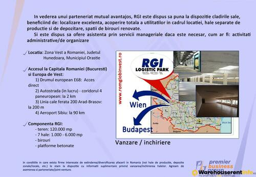 Warehouses to let in RGI Logistic Park