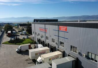 Logistic warehouse G+F, Sibiu